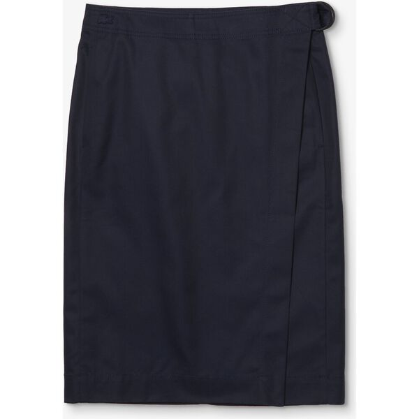 Women's Premium Cotton Canvas Wrapped Skirt, CORRIDA/PLAGE-LEGION, hi-res