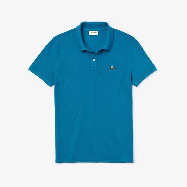 Men's Slim fit Lacoste Polo Shirt in petit piqué, WILLO, hi-res