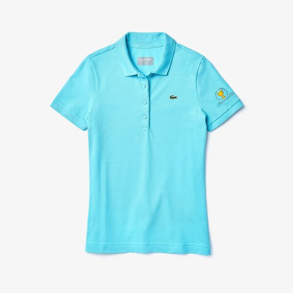 WOMEN'S PRESIDENTS CUP JERSEY POLO, HAITI BLUE, hi-res