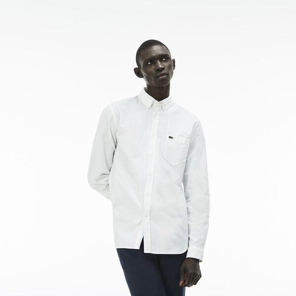 Men's Classic Long Sleeve Reg Fit Oxford Shirt