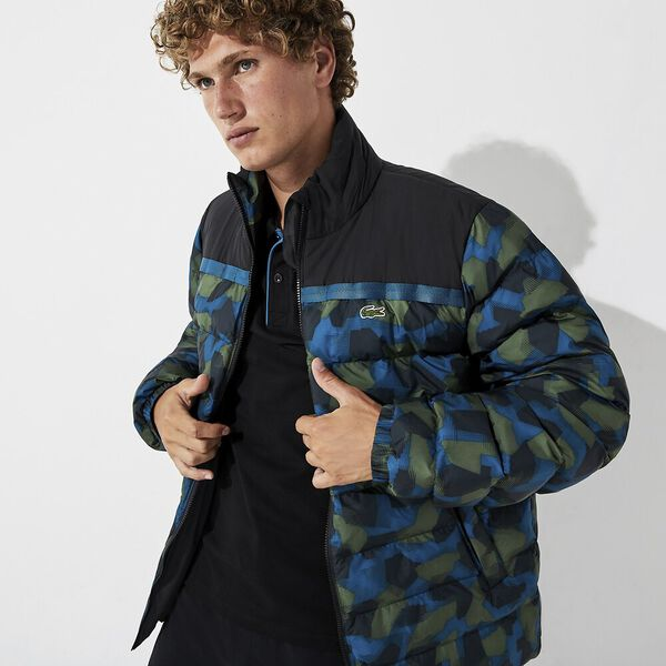 Men's Lifestyle Printed Ripstop Parka