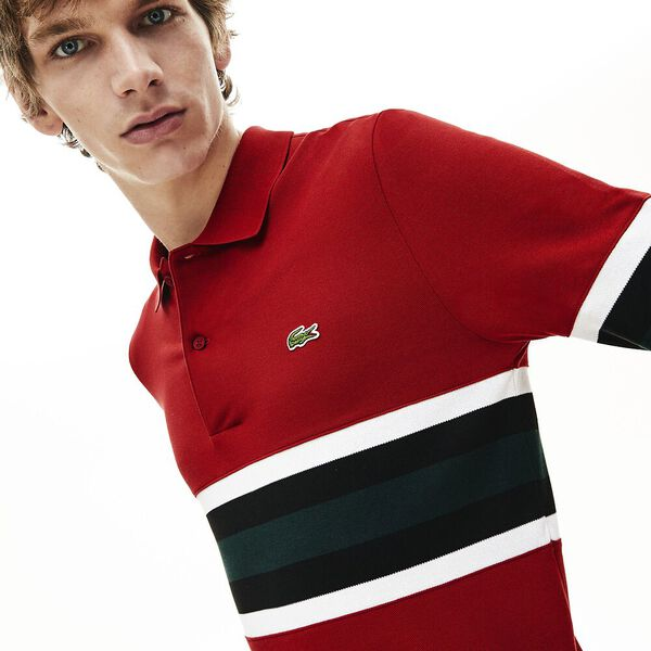 Men's Golden Week Long Sleeve Slim Fit Polo