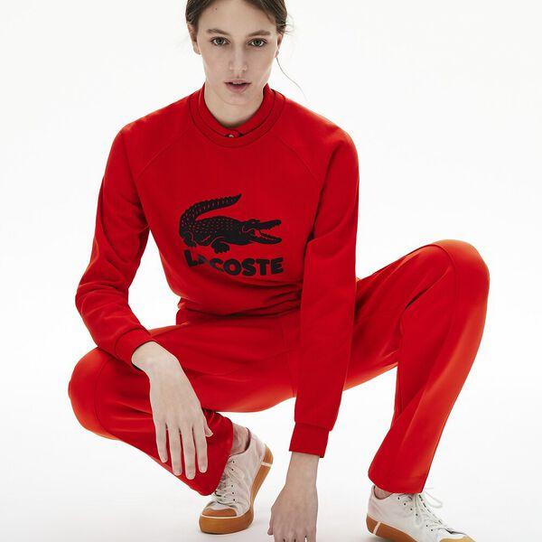 Women's Printed Fleece Sweatshirt
