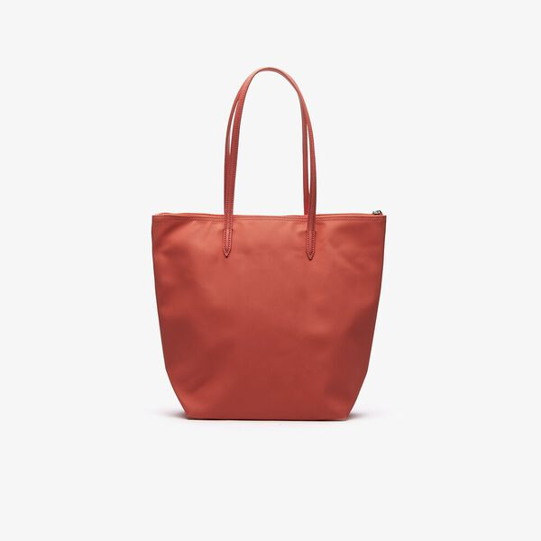 Women's L.12.12 Vertical Shopping Bag, CORAL, hi-res