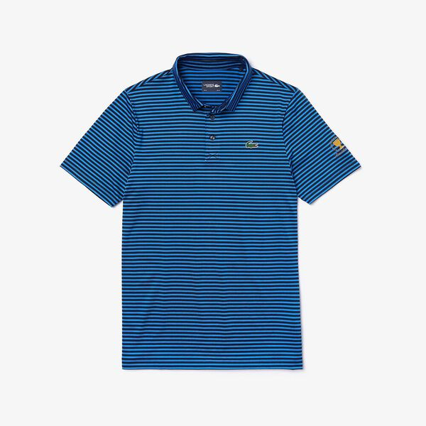 MEN'S PRESIDENTS CUP JERSEY POLO, NAVY BLUE/GIPSY BLUE 90E, hi-res