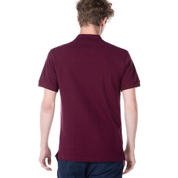 Men's Cotton Piqué Slim Fit Polo, VINE CHINE, hi-res