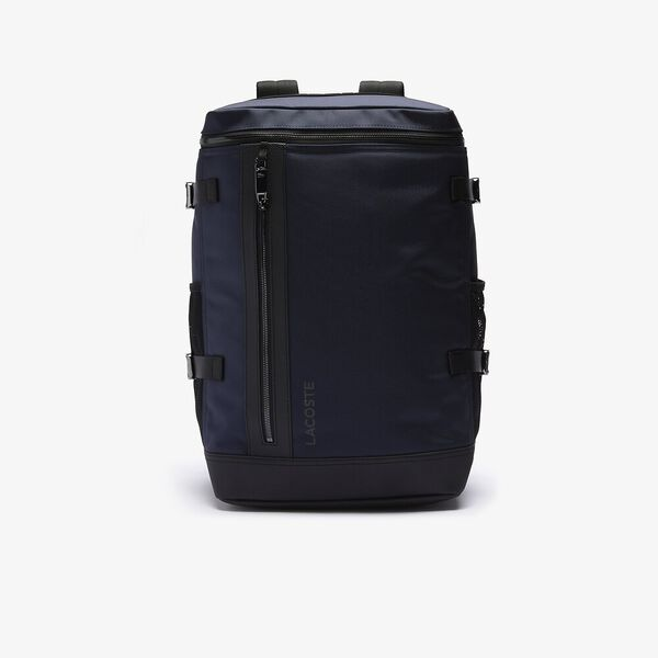 Men's L On The Go Resistant Canvas Round Backpack