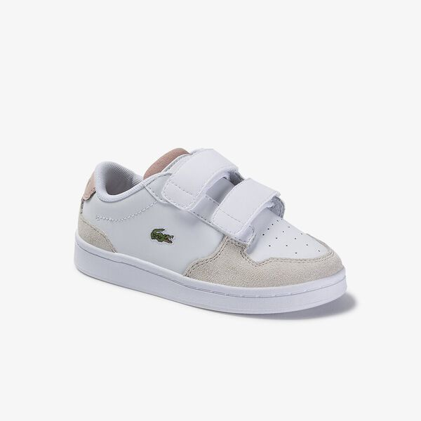 Infant Masters Cup 120 2 Sneaker, WHITE/NATURAL, hi-res
