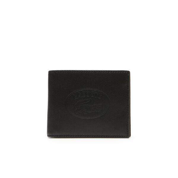 MEN'S L.12.12 LEATHER SMALL BILLFOLD