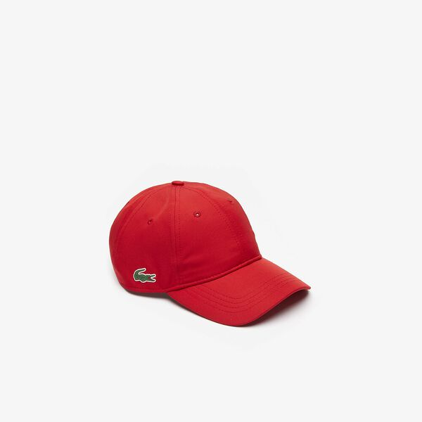 MEN'S BASIC DRY FIT CAP, RED, hi-res