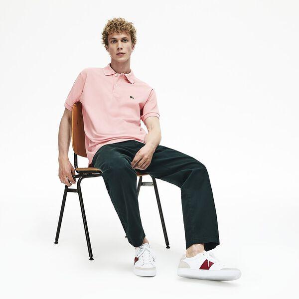 Men's L.12.12 Classic Polo, PRINCESS PINK, hi-res