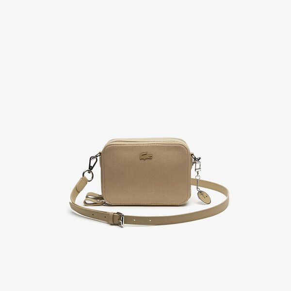 WOMEN'S DAILY CLASSIC DOUBLE ZIP CROSSOVER BAG