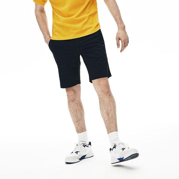 Men's Classic Slim Stretch Bermuda Short, NAVY BLUE, hi-res