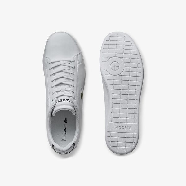 Men's Carnaby Evo Leather Trainers, WHITE, hi-res