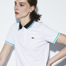 WOMEN'S ULTRA DRY POLO WITH CONTRAST COLLAR