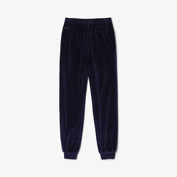 Women's Lacoste Motion Pant, NAVY BLUE, hi-res