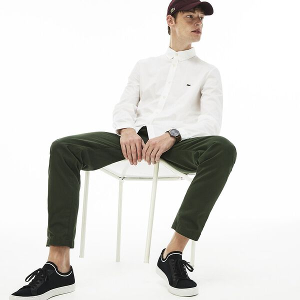 Men's Slim Fit Stretch Popelin Shirt