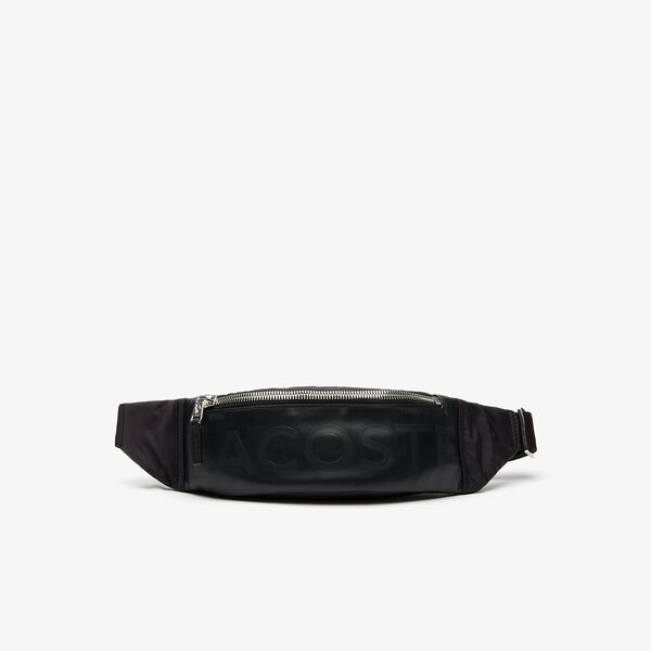 Men's L.12.12 Signature Leather Zip Belt Bag