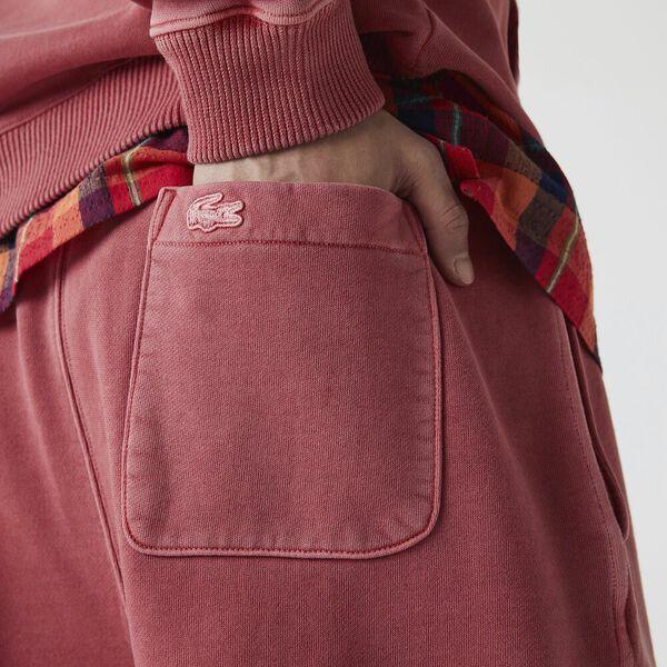 Unisex LIVE Embroidered Shorts, GRAPEFRUIT, hi-res