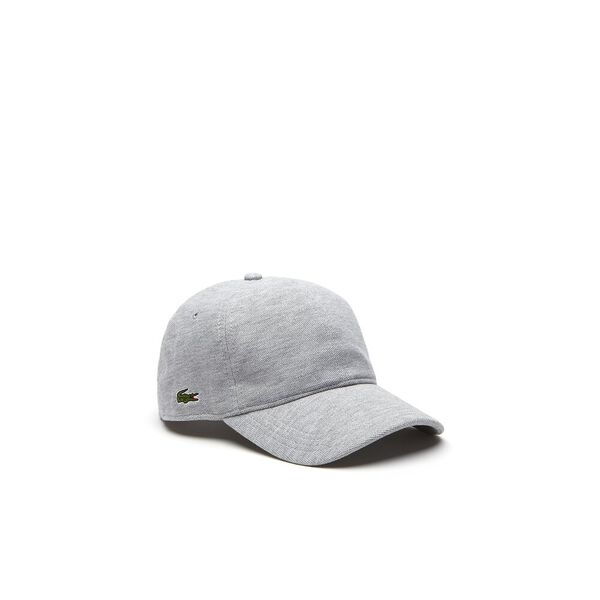 PIQUE CAP, SILVER CHINE, hi-res