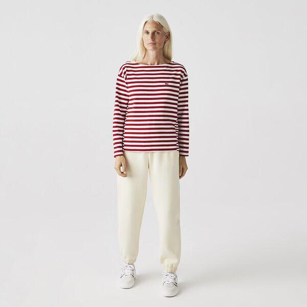 Women's Thick Cotton Jersey Sailor Shirt