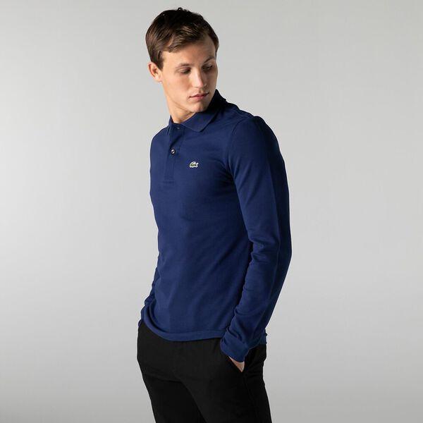 Men's Long Sleeve L.12.12 Classic Polo, SCILLE, hi-res