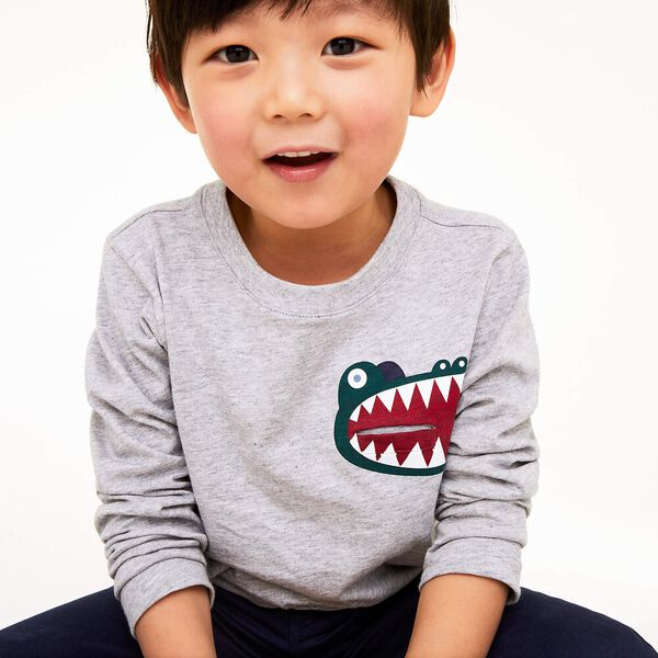 Boy's Multico Long Sleeve Tee