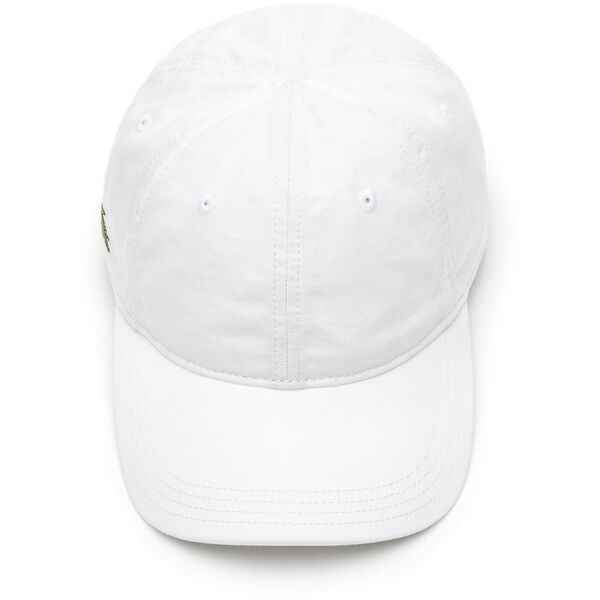 Men's Basic Side Croc Cap, WHITE, hi-res