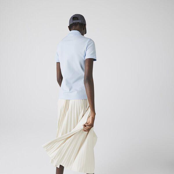 Women's Slim fit Piqué Polo, RILL, hi-res