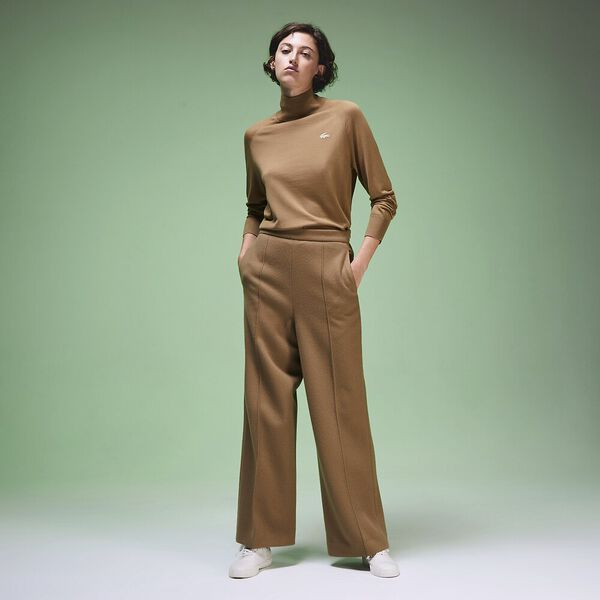 Unisex Fashion Show Iconics Polo Neck Knit, LYCET/FLOUR, hi-res