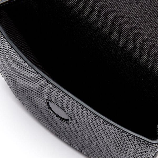 Women's Chantaco Piqué Leather Belt Bag, BLACK, hi-res