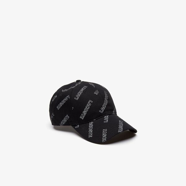 L!ve All Over Print Cap, BLACK/WHITE, hi-res