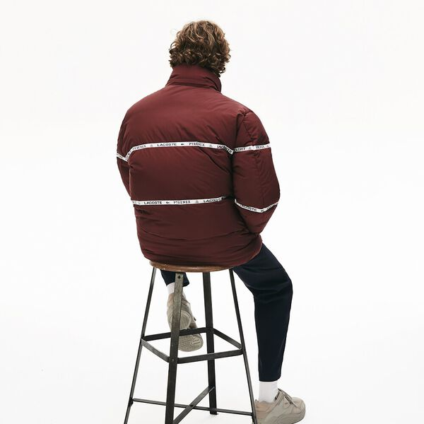 Unisex Lacoste X Pyrenex Lightweight  Puffer Coat, WINE 0, hi-res