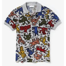 BOYS KEITH HARING POLO