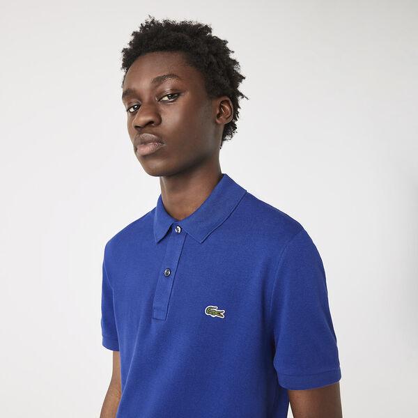 Men's Slim Fit Polo, COSMIC, hi-res