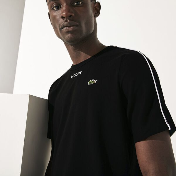 Men's SPORT Piped Cotton T-shirt