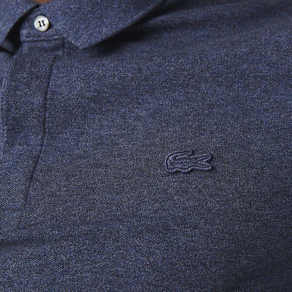 Men's Paris Polo, HEATHER NEBULA, hi-res