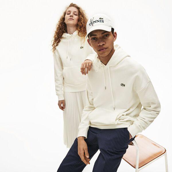 Unisex Lacoste LIVE Kangaroo Pocket Hooded Sweatshirt