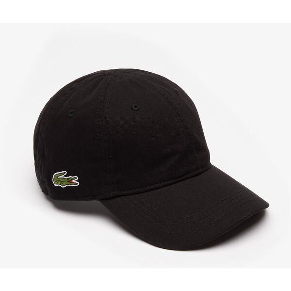 MEN'S BASIC SIDE CROC CAP, BLACK, hi-res