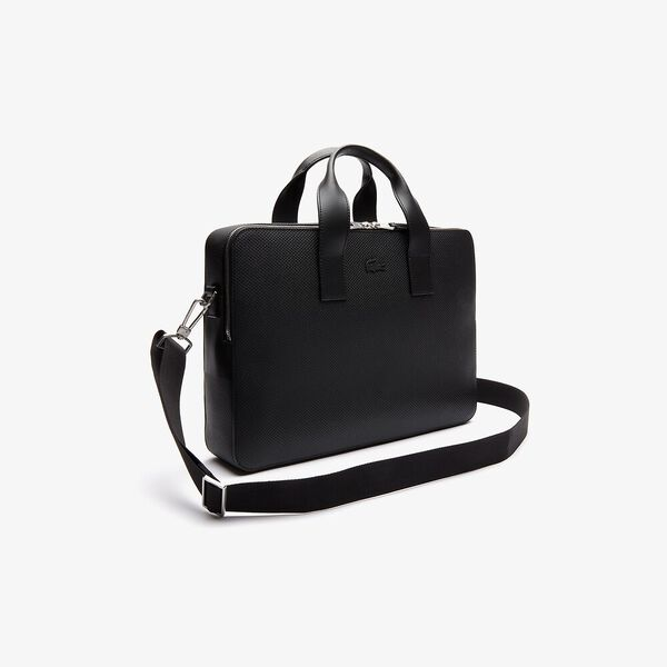 Men's Chantaco Computer Bag, BLACK, hi-res