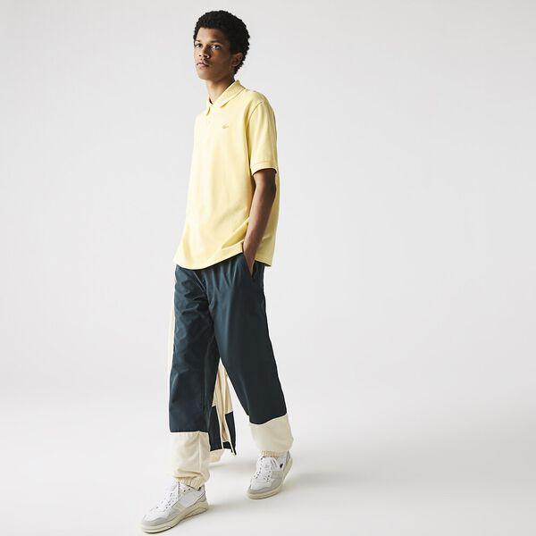 Unisex LIVE Loose Fit Cotton Piqué Polo, ZABAGLIONE, hi-res