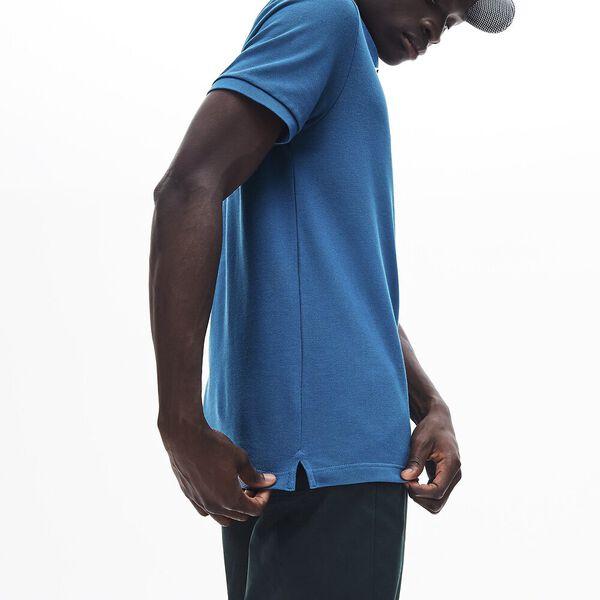 Men's Slim fit Lacoste Polo Shirt in petit piqué, ELYTRA, hi-res