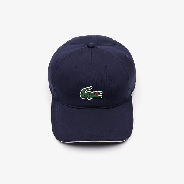 GOLF ULTRA DRY PIQUE CAP, NAVY BLUE/WHITE, hi-res