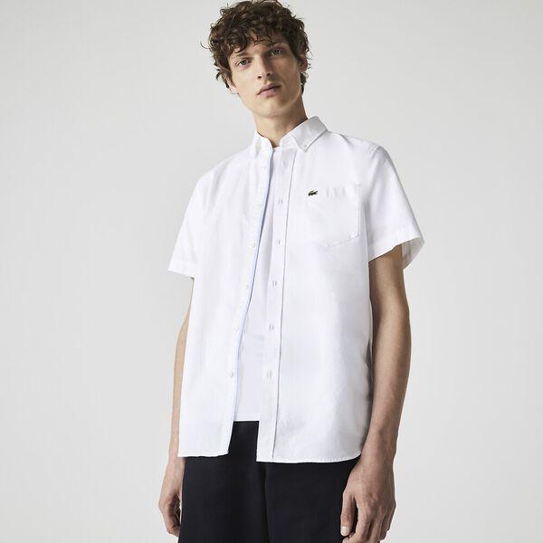 Men's Classic Short Sleeve Reg Fit Oxford Shirt