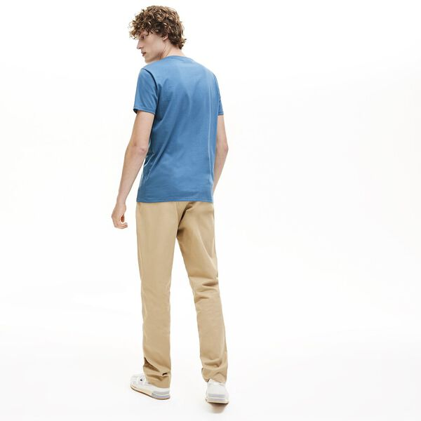 Men's Basic Crew Neck Pima Tee, ELYTRA, hi-res