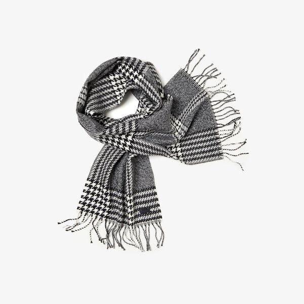 Men's Chic Wool Jacquard Scarf