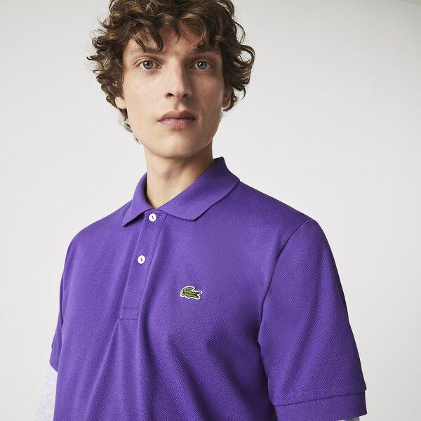 Men's L.12.12 Classic Polo, LAVENDER, hi-res
