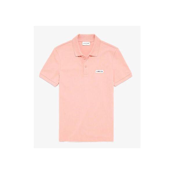 Men's Tricolor Signature Badge Polo Shirt, ELFE, hi-res