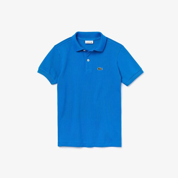Kid's Petit Piqué Polo Shirt, NATTIER, hi-res