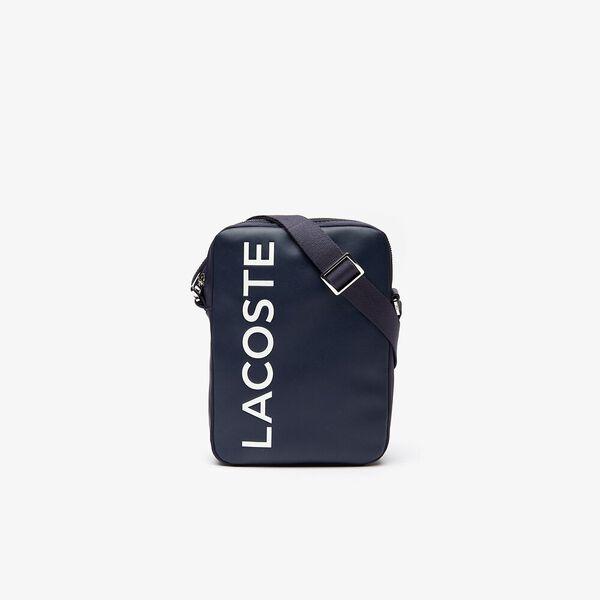 Men's L.12.12 Cuir Medium Vertical Camera Bag